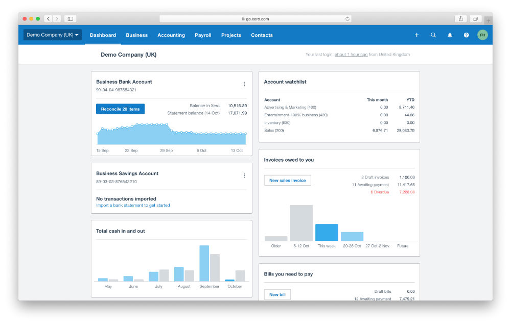 Free Accounting System Setup